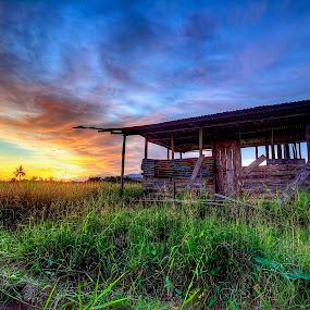 Home My Heaven by Johan Wan - Landscapes Prairies, Meadows & Fields