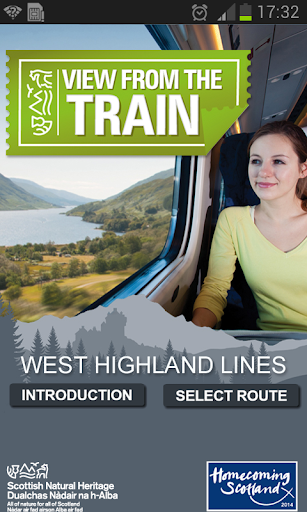 West Highland Train Views