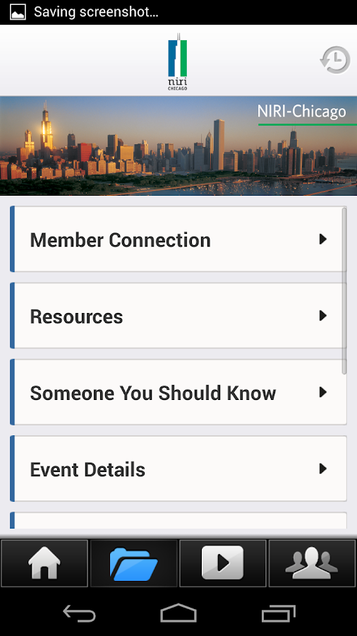 NIRI Chicago Chapter- screenshot