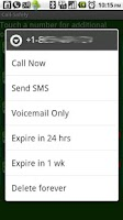 Screenshot of Call-Safely w/SMS, VMS & Cloak