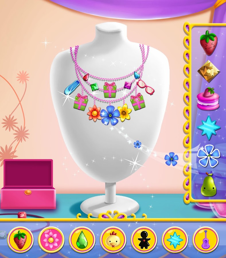 Jewellery Designing Games For Girls