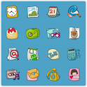 QQLauncher:Cute Cute Theme icon