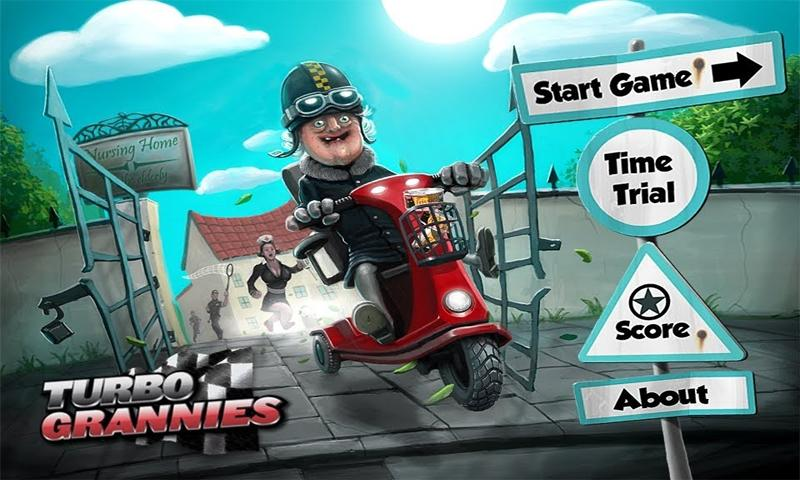 Turbo Grannies - screenshot