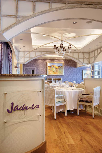 Oceania Marina's Jacques is the ideal dining setting with exceptional service and memorable food.