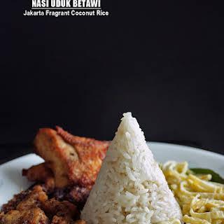 Nasi Uduk Betawi - Jakarta Fragrant Coconut Rice.