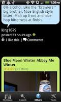 Screenshot of Beer - List, Ratings & Reviews