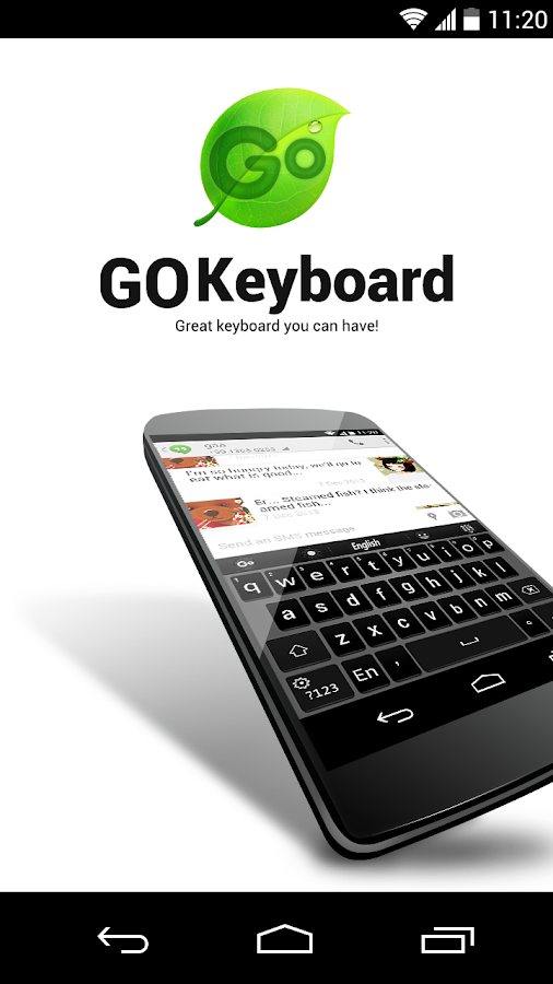 GO Keyboard - screenshot