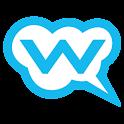 Free sms by whozzat logo