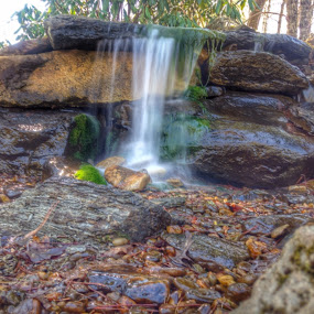 Cute little waterfall by Evah Banova - Instagram & Mobile iPhone (  )