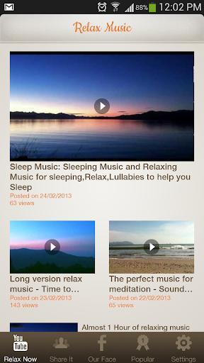 Relax and Sleep - Music