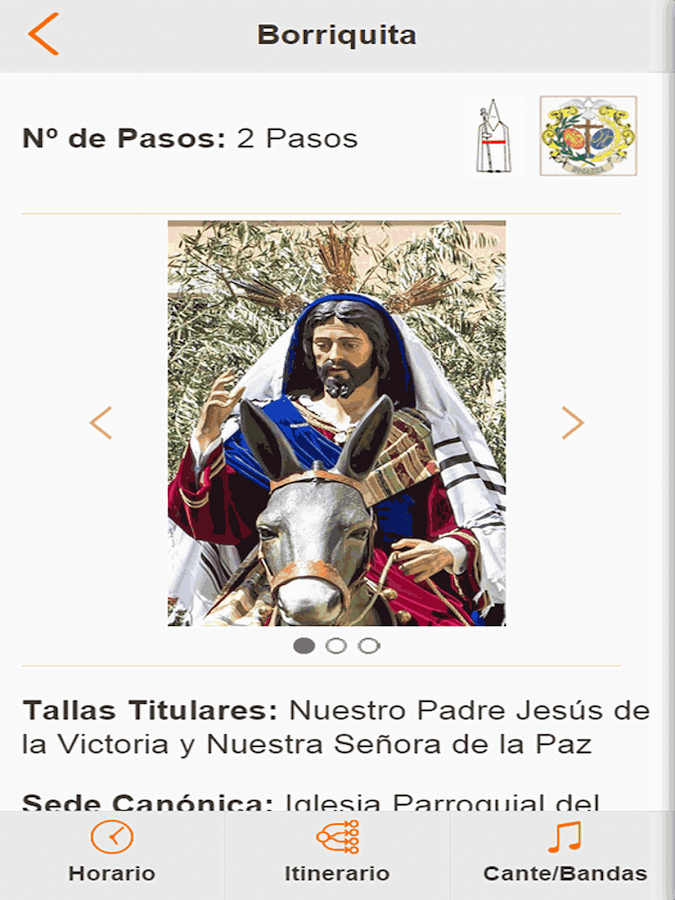 Guía Semana Santa Almería 2015 - screenshot