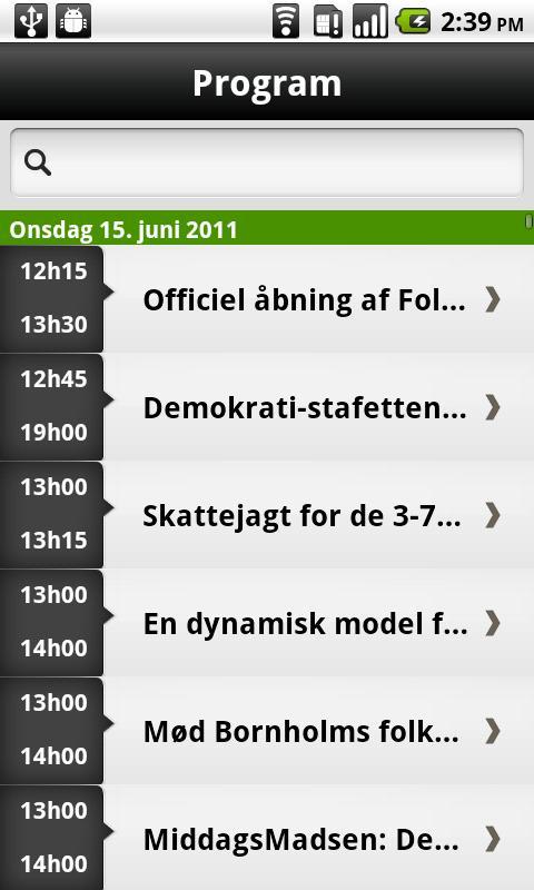 Folkemødet- screenshot