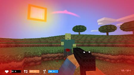 Cube Gun 3D : Zombie Island 1.0 screenshot 44153