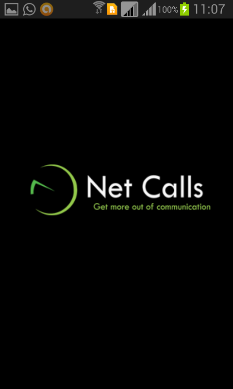 NetCalls- screenshot