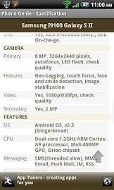 Phone Genie - GSMArena Browser Screenshot 6