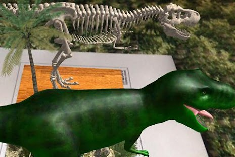 Logie T.Rex Augmented Reality - screenshot thumbnail