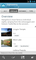 Screenshot of Hangzhou Guide by Triposo