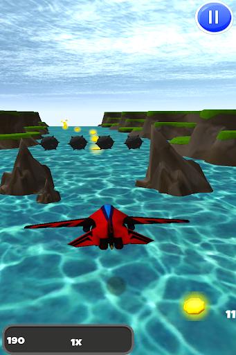 喷气式战斗机飞行员的3D模拟器