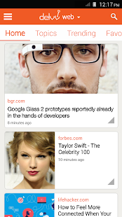 Delvv: Personalized News Feed - screenshot thumbnail