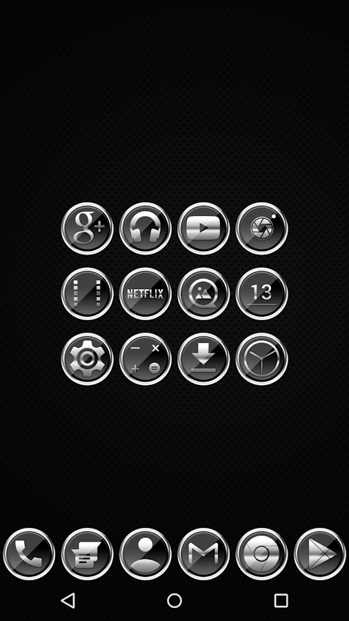 Platinum - Icon Pack- screenshot
