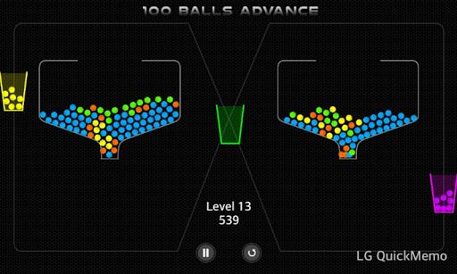 【免費休閒App】100 Balls ADVANCE-APP點子