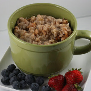 Basic Overnight Oatmeal Slow Cooker.