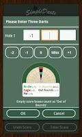 Screenshot of Simple Darts - Dart Scoring