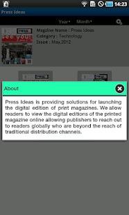 Press Ideas - screenshot thumbnail