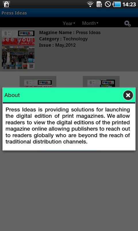Press Ideas - screenshot