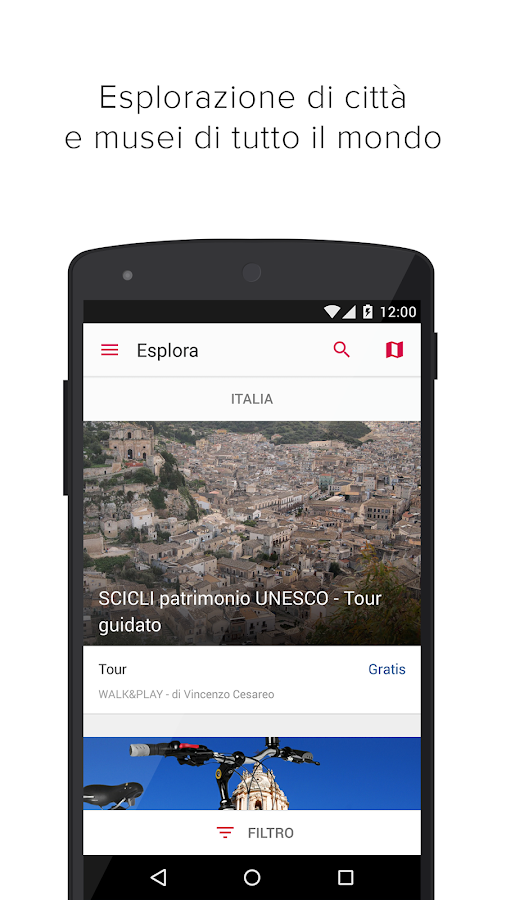 iziTRAVEL Audio Guide e viaggi- screenshot