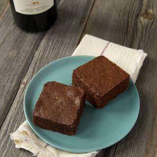Red Wine Brownies.