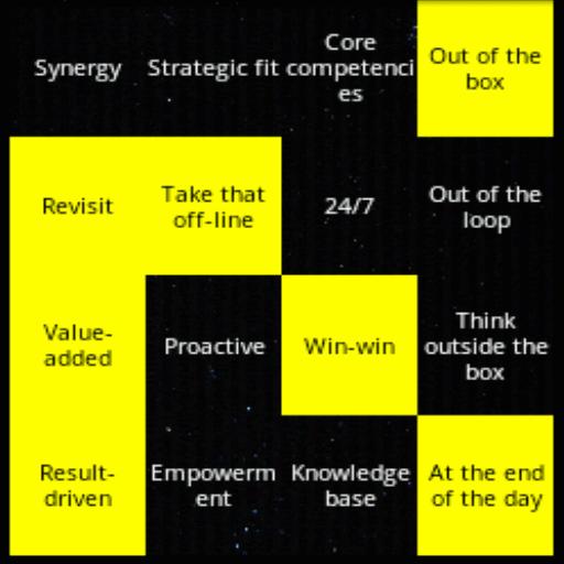 Buzzword Bingo