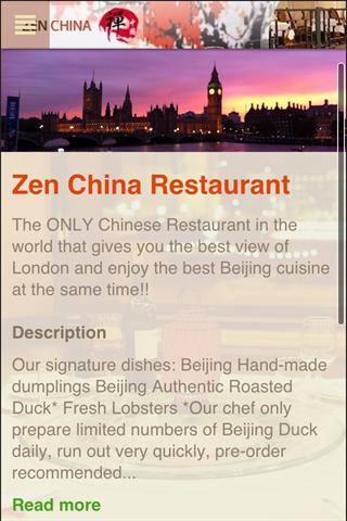 Zen China Restaurant