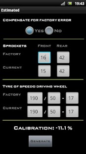 Speedo Healer Calculator - screenshot thumbnail