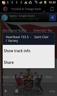 Trinidad & Tobago Radio - screenshot
