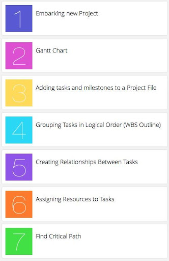 Learn Ms Project Management