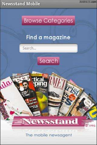 Pocket Newsstand- screenshot