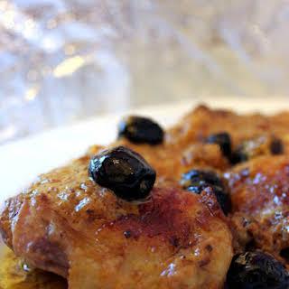Vernaccia Wine and Saffron Chicken.