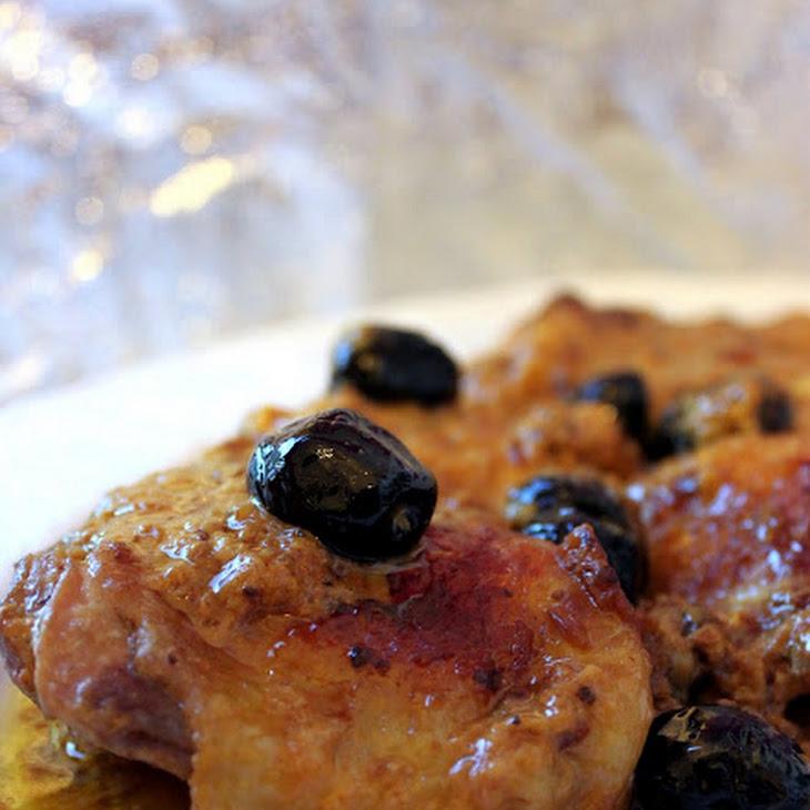 Vernaccia Wine and Saffron Chicken
