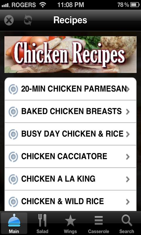 Chicken Recipes Free - screenshot