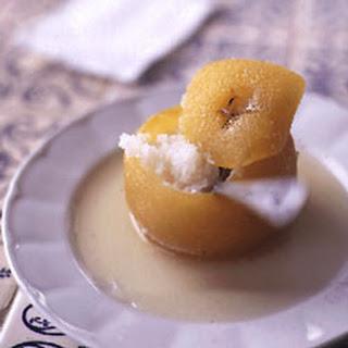 Oranges Stuffed with Coconut Recipe