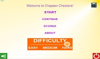 Screenshot of Chapaev checkers