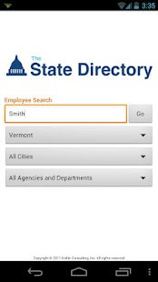 The State Directory - screenshot thumbnail