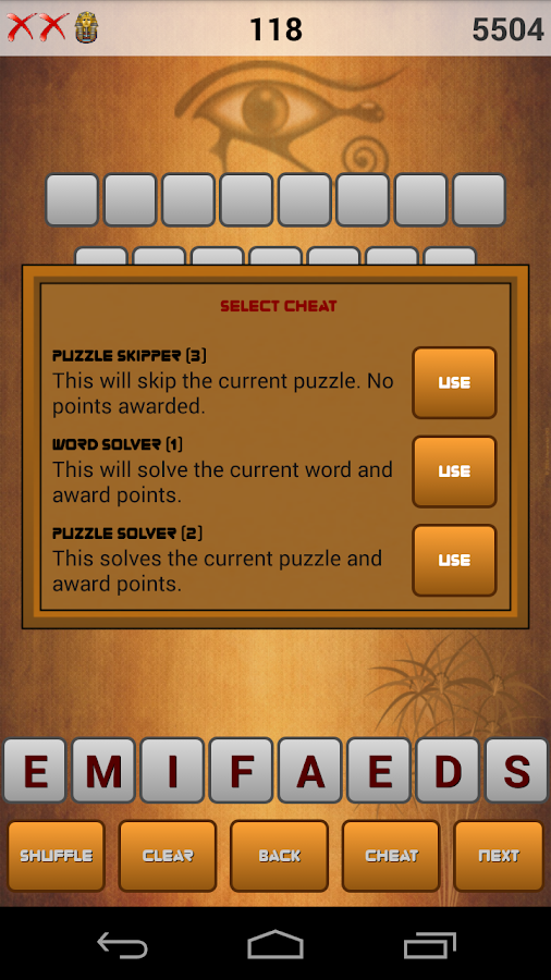 Word Pyramid Free - screenshot