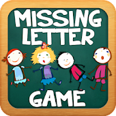 Missing Letters Spelling Kids