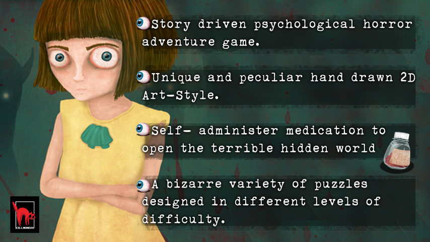 Fran Bow Alpha Demo- screenshot