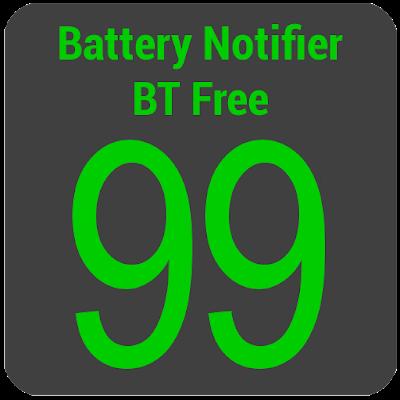 Battery Notifier (Big Text)
