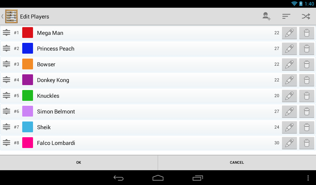 KeepScore - Score Keeper - screenshot