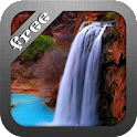 Waterfall Beauty LWP HD Free icon