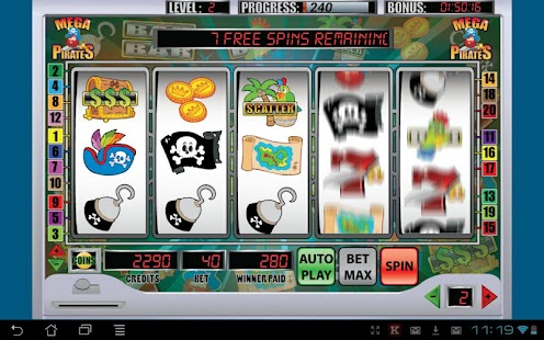 Mega Pirates Slot Machine - screenshot thumbnail
